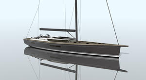 Contest Yachts flagship takes shape ahead of 2018 launch