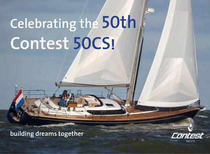 Celebrating the sale of the 50th Contest 50CS